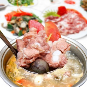 rib cartilage Hot pot